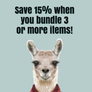 Other - Save 15% when you bundle three or more items.